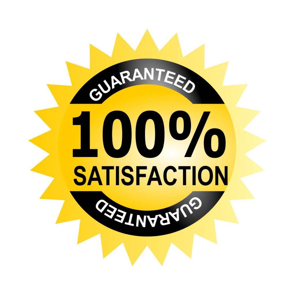 100% satisfaction guaranteed locksmith services